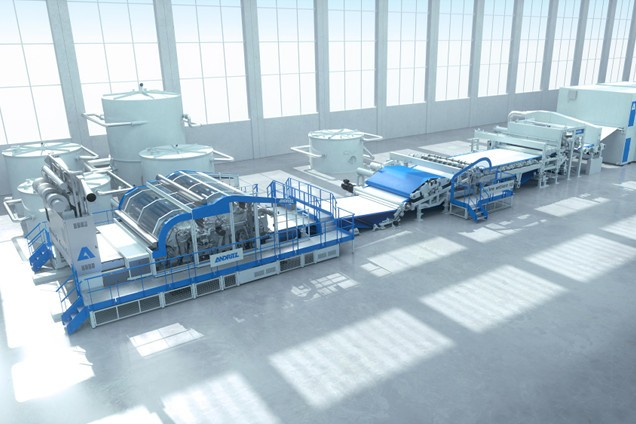 ANDRITZ to supply a Wetlace™ CP line to Lotus Teknik, Turkey