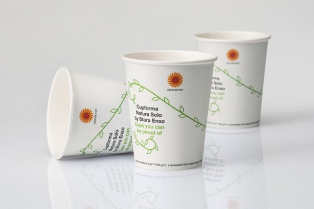 Stora Enso introduces an innovation for paper cups: a renewable paperboard designed for effective recycling