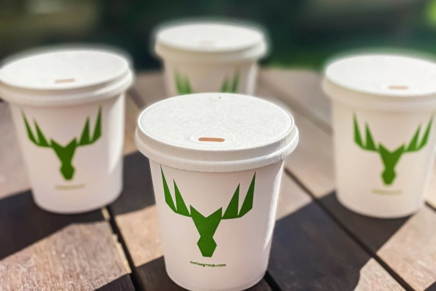 The Paper Lid Company and Metsä Board introduce 100% recyclable paperboard lid for takeaway beverage cups