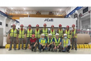 Shanying Group: two 8-meter A.Celli Paper Rewinders successfully started-up