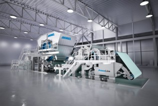 ANDRITZ to supply a PrimeLineCOMPACT S 1300 tissue machine
