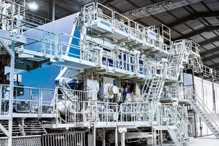 ANDRITZ successfully starts up rebuilt paper machine at PJSC Kyiv Cardboard and Paper Mill, Ukraine