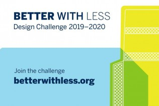 Sign up soon: entries for the Better with Less – Design Challenge 2019–2020 close on 5 January