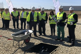Dunapack Rambox announces the start of construction works for its new corrugated packaging plant in Bolintin-Deal near Bucharest