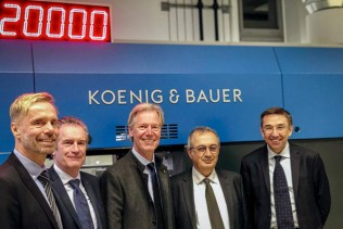 Koenig & Bauer and Duran Machinery unite to form Koenig & Bauer Duran