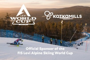 World Cup Levi is Kotkamills' newest partner in responsible sporting events