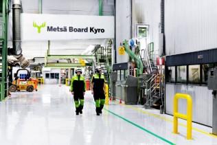 The modern board mill Metsä Board Kyro is celebrating its 150th anniversary