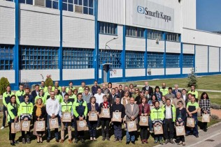 Smurfit Kappa Sangüesa Paper Mill and Navarra Government distribute 130,000 p
