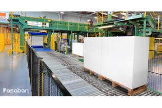 COMART installs a new Pasaban paper sheeting machine to increase its cutting capacity