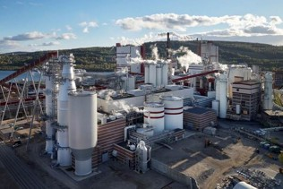Valmet-supplied world's largest production line for bleached softwood pulp successfully started up at SCA Östrand mill in Sweden