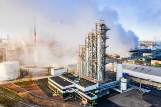 Inauguration of the world's first fossil-free biomethanol plant