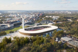 Stora Enso and Helsinki Olympic Stadium partner up to promote circular economy solutions