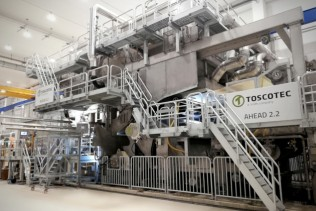Toscotec starts up new turnkey tissue line at Cartiera Confalone in Italy