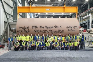 Successful start-up of complete paper production line supplied by Voith to Green Bay Packaging in the U.S.