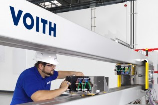 Voith's Quality Control System (QCS) OnQuality to improve production quality at Simka Kagit PM 1 in Kayseri, Turkey