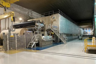 Voith rebuilds complete PM 5 of customer PAPRESA for the optimized production of packaging paper