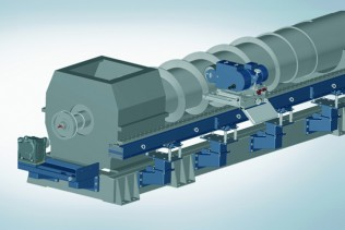 SmartGrinder: Voith introduces new refurbishment service for screw presses