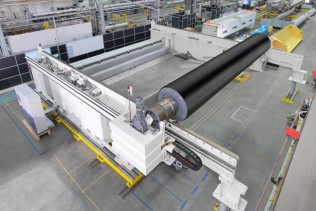 Voith's new double unwind TwinDrive significantly boosts winding capacity