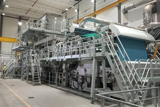 Record 2,200 mpm constant speed at WEPA Giershagen