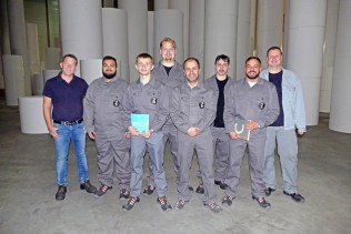 Zanders: six new apprentices